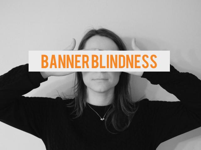 'Banner Blindness' bestaat niet