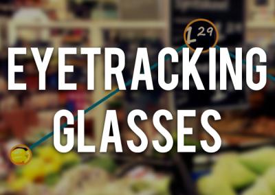 Eye tracking met bril