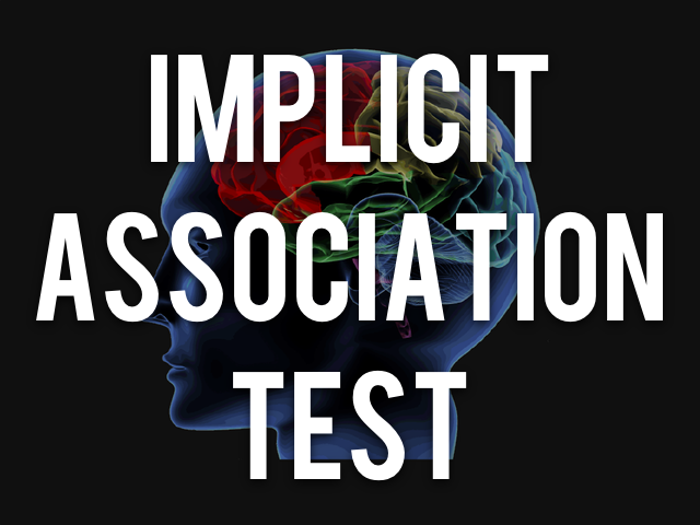 implicit association test checkpoint In the book blindspot, the authors reveal hidden biases based on their  experience with the implicit association test project implicit is graciously hosting .