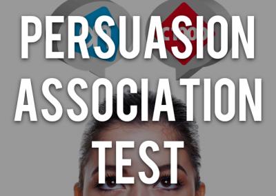 Persuasion Association Test