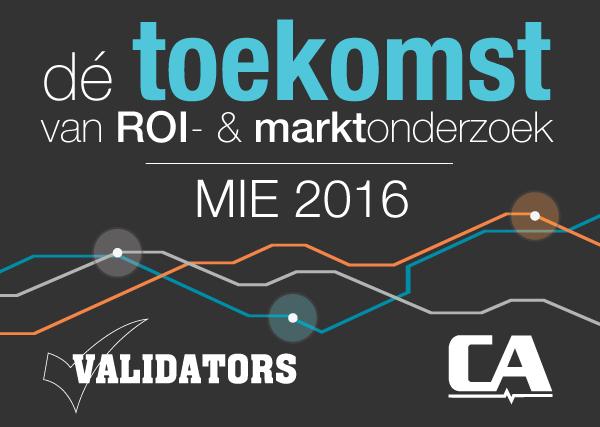 MIE 2016 – De toekomst van ROI- & Marktonderzoek