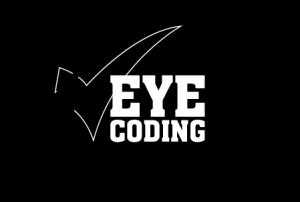 Eye Coding -zwart