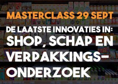 Masterclass: de laatste innovaties in shop, schap en verpakkingsonderzoek