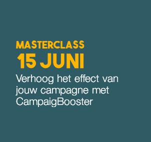 Masterclass: Campaignbooster 15 juni 2017