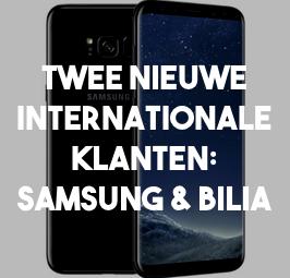 Validators voert onderzoek uit voor twee internationale klanten: Samsung en Bilia