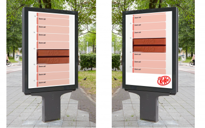 Klein logo, groot verschil: hoe een uiting voor KitKat viral ging maar effectiviteit mist
